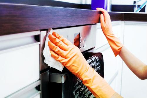 Làm sạch phòng bếp